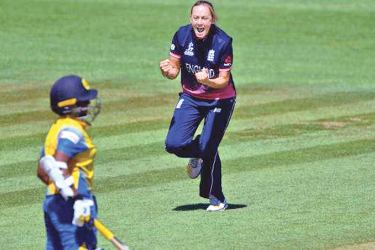 England Women off-spinner Laura Marsh took four wickets against Sri Lanka Women at Taunton.