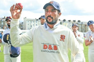 Mohammad Amir took 10 wickets in just his second Championship match for Essex