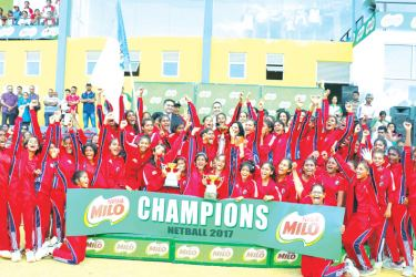 Overall champs Holy Family Convent (HFC) Kurunegala