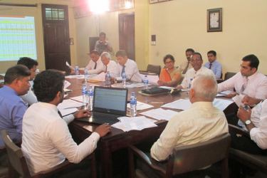 The applications being evaluated by the External Panel of Judges.