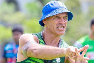 SL Rugby Sevens coach Peter Woods