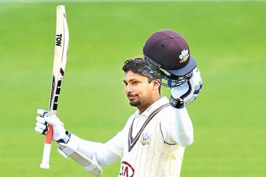 Kumar Sangakkara in great form for Surrey with his eighth century of the  season