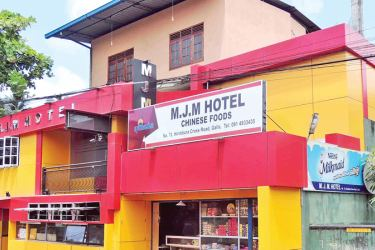 MJM Hotel which is alleged to have been sealed