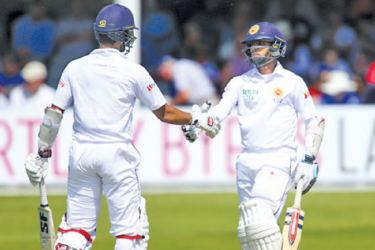 Niroshan Dickwella and Kusal Mendis two exciting young stars in the Lankan batting line up.