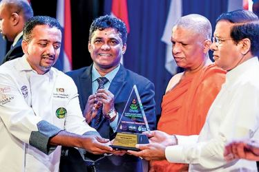 The third consecutive Tourism Leaders' Summit and International Research Symposium was held at BMICH in Colombo with President Maithripala Sisisena as the Chief Guest. The theme of the event was 'Sustainable Tourism for Development - Way Forward for Sri Lanka'. The Tourism Leaders' Summit and International Research Symposium was partnered by the Ministry of Tourism Development and Christian Religious Affairs and Sri Lanka Tourism as the strategic partner. Over 1,000 local and foreign industry professionals