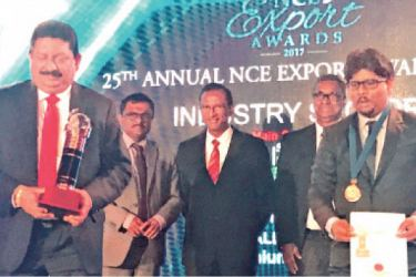 Venora Lanka's quest for excellence has been recognized by the National Chamber of Exporters (NCE) at the 25th Annual Export Awards – 2017 held at Hilton Main Ballroom, Colombo on September 29. Venora Lanka clinched the Bronze category Award in the Industry Sector. Venora Lanka Power Panels is an export oriented manufacturer who has its state of the art Factory at the Export Processing Zone, Biyagama. 'Venora Lanka' provides power panels to Mega Projects in Sri Lanka and exports to Bangladesh, Mal