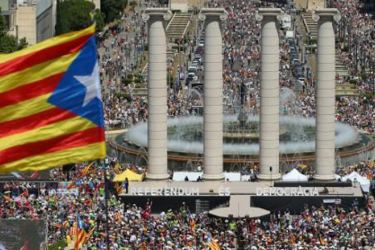 Catalonian referendum violence plunges EU into crisis.
