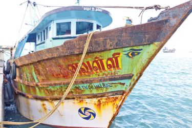 The seized trawler