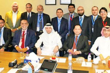 The delegation in Saudi Arabia