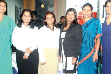WISTA members at the event