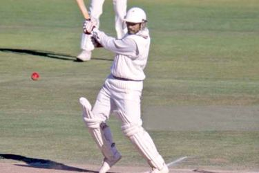 Amal Silva batting for Sri Lanka during his innings of 161 not out on the first day of the tour match between Warwickshire and Sri Lanka at Edgbaston, Birmingham, August 29, 1984
