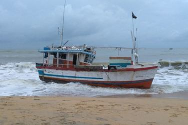 The seized boat.