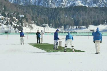 St. Moritz in Switzerland venue for Ice Cricket 2018.
