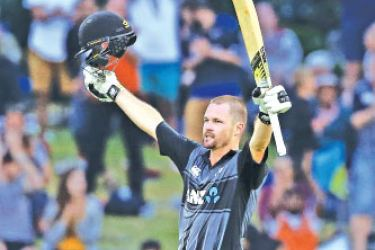 Munro's rollicking 104 off 53 deliveries included 10 sixes and three fours. AFP