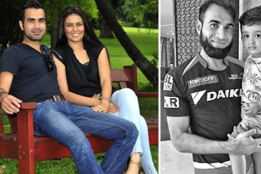 Imran and Sumayya are happily married now.-Imran and son Gibran