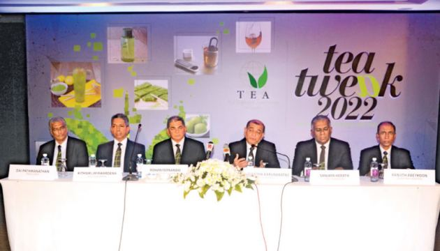 TEA officials at the Press event at Cinnamon Grand  Picture by Vipula Amarasinghe