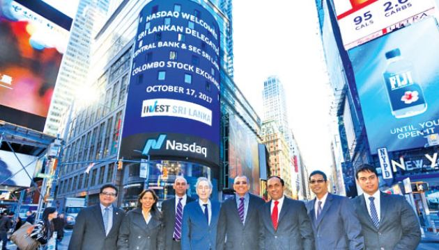 Representatives of the CSE and SEC were recently hosted by NASDAQ at NASDAQ market site – the commercial marketing presence of the NASDAQ stock market and the location for Market Bell Ceremonies at New York's Times Square.