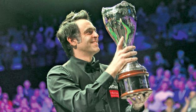 'I'm over the moon to win any tournament, let alone the UK Championship,' said Ronnie O'Sullivan.