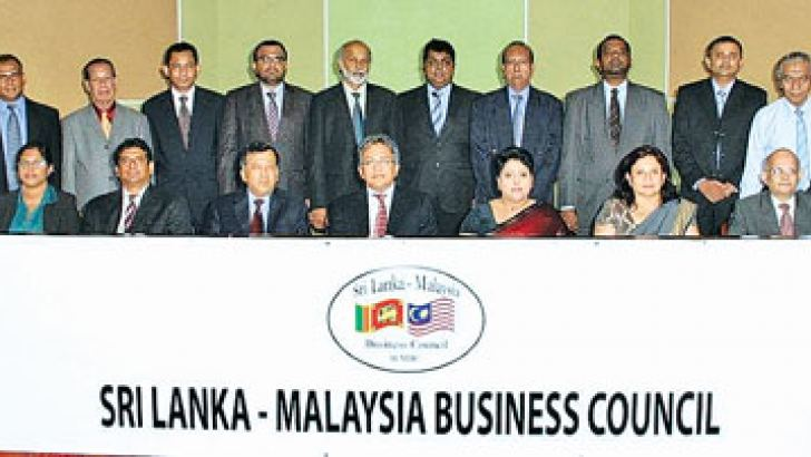 The newly elected Committee Seated From L-R: Anisha Dias, Manager, The Ceylon Chamber of Commerce, Kevin De Silva, Malship (Ceylon) Limited, Past President SLMBC, Keerthi Jayasuriya, International Scholar Educational Services (Pvt) Ltd, Vice President, Azmi Zainuddin, High Commissioner for Malaysia in Sri Lanka, Nilrukshi De Silva, Macksons Paints Lanka Pvt Ltd, President SLMBC, Dushy Jayaweera Hemas Air Services (Pvt) Ltd, Immediate Past President, SLMBC, Tilak N Gunawardena, Attorney-at-Law Standing From