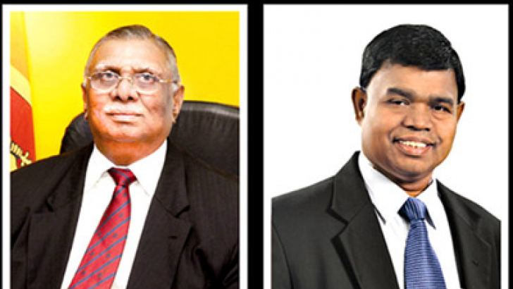 Chairman Razik Zarook and GM D. M Gunasekera