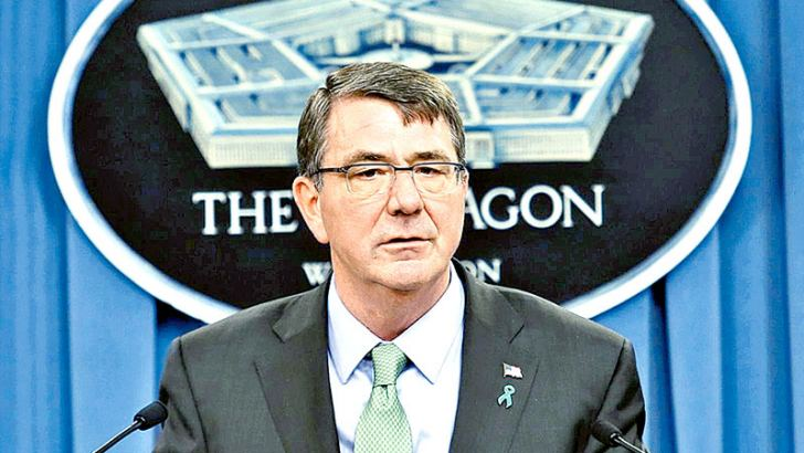 US Defence Secretary Ash Carter