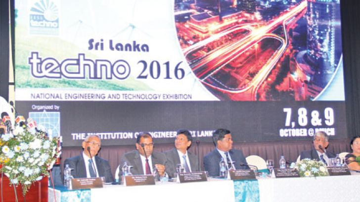 Patali Champika Ranawaka, Minister of Megapolis and Western Region  Development addressing  the event in Colombo on  Wednesday