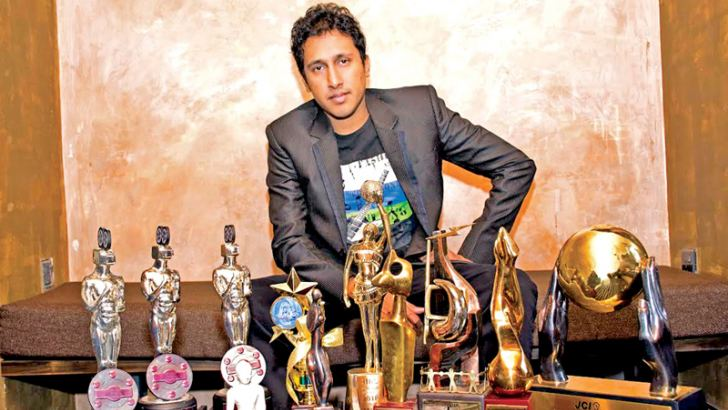 With his awards