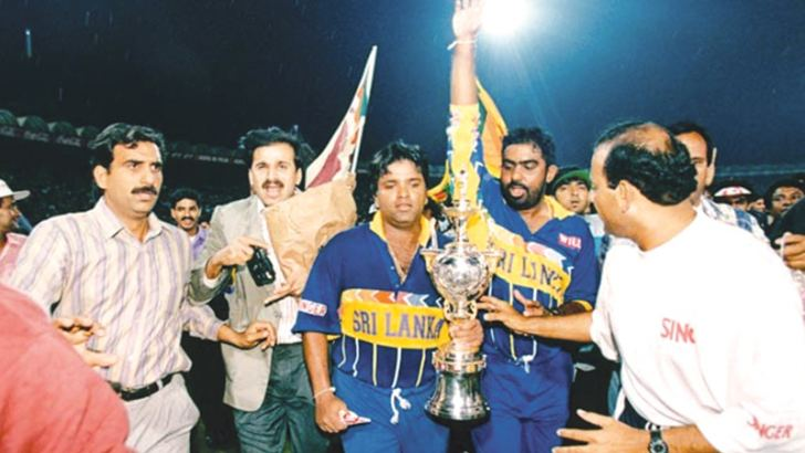Arjuna Ranatunga – the first to win the Observer Schoolboy Cricketer of the Year title twice, subsequently led Sri Lanka to World Cup glory in 1996
