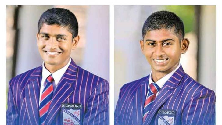 Dhananjaya Lakshan Richmond College-Richmond captain  Kamindu Mendis