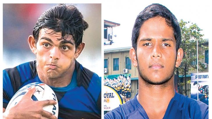 Naveen Heenakankanamge  S. Thomas' College captain  -Ovin Askey  Royal College captain