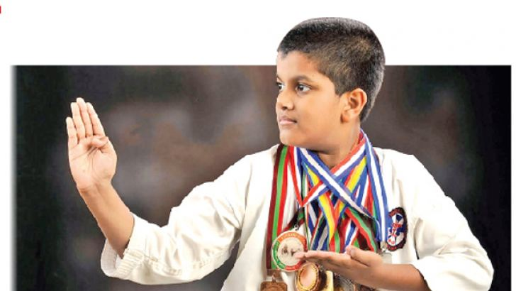 Winning many medals for his talent