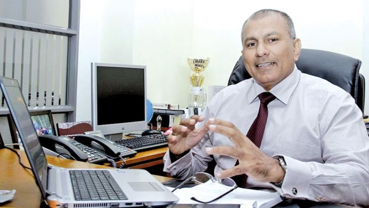 New Chairman of Colombo Stock Exchange (CSE) Ray Abeywardena.Picture by Saliya Rupasinghe