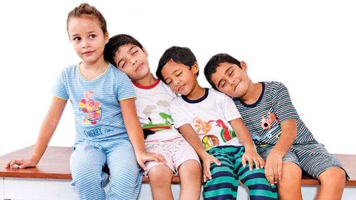 Mackley Sleepwear children's collection for age groups 2-5 years, 5-8 years and 8-14 years