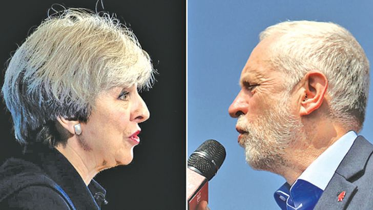 May v Corbyn: The Battle For Number 10 resumes