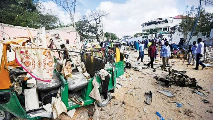 The Mogadishu restaurants targeted in Wednesday's Shabaab attack were popular with affluent, young and diaspora Somalis.- AFP