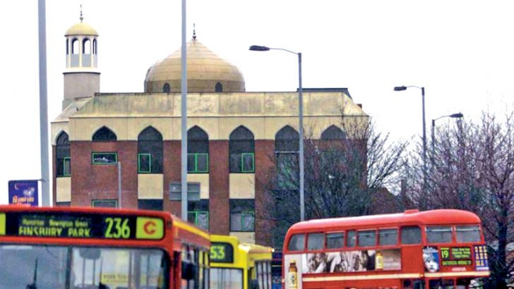 A file photo of the Mosque in Finsbury Park, London.