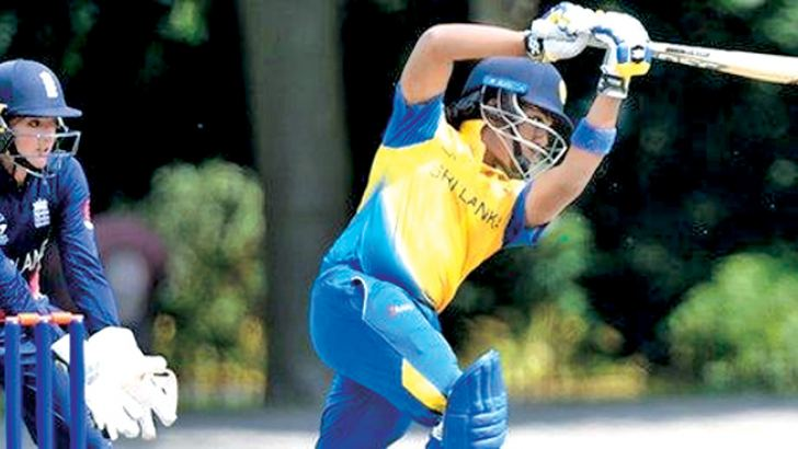 Chamari Atapattu top-scored for Sri Lanka with 33 from 64 balls against an economical England attack.