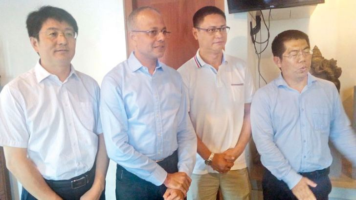 CMC's Project Management with Minister Sagala Rathnayake
