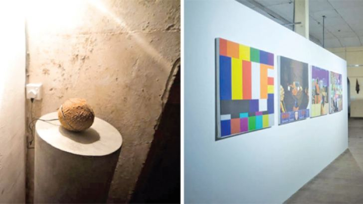 Art displayed at Colomboscope 2016
