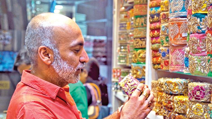 Vibrant colours are the DNA of Manish Arora's designs and inspiration as he shops in Delhi's busiest market of Chandni Chowk