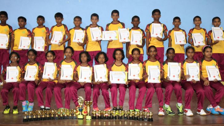 Lumbini College, under 13 Badminton team
