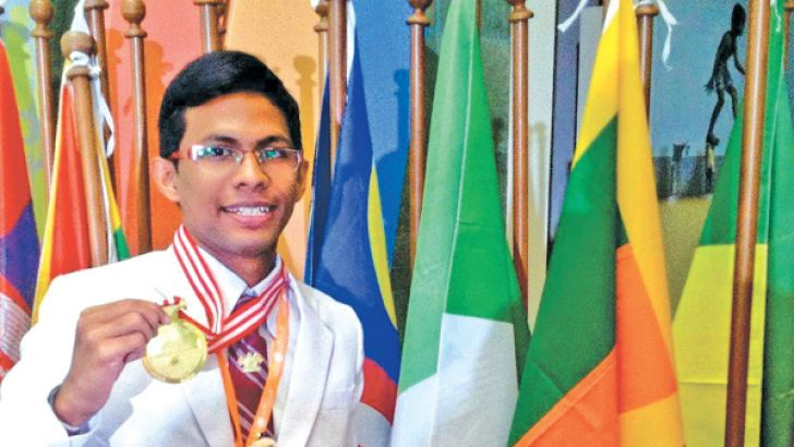Winning a Gold Medal at the International Science Research Olympiad 2015 held in Jakarta, Indonesia