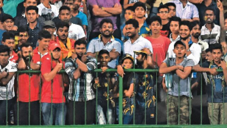 'We need the backing of the fans. The nation has to back us. That is our biggest strength' – Sri Lanka ODI captain Upul Tharanga.