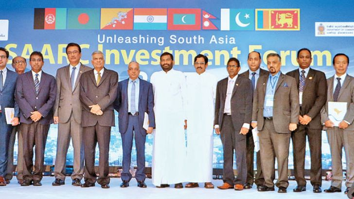 Participants of the SAARC Investment Forum. Pictures by Saman Sri Wedage.