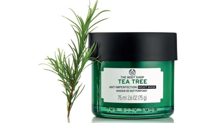 Tea Tree  Anti-Imperfection Night Mask from The Body Shop's Tea Tree range