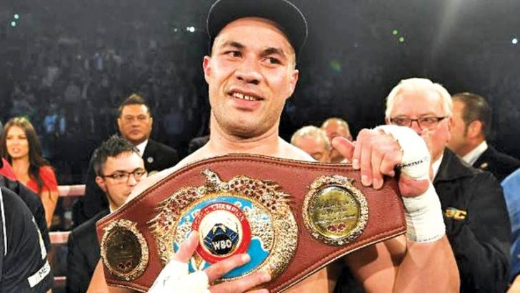 Joseph Parker beat Hughie Fury to retain his World Boxing Organisation (WBO)  heavyweight title