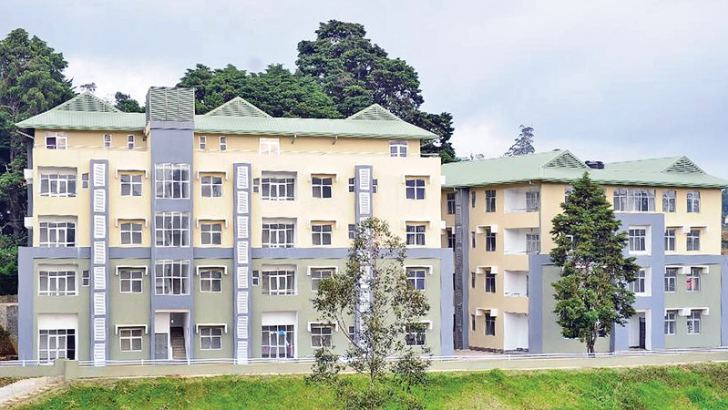 The Nuwara Eliya District General Hospital.
