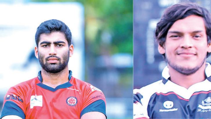 CR&FC captain  Tarinda Ratwatte and CH&FC captain  Rohitha Rajapaksa