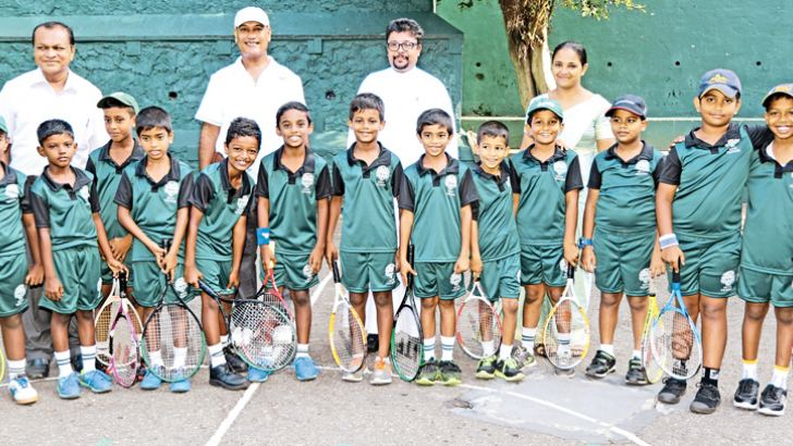 St Benedicts College under 8 Tennis team