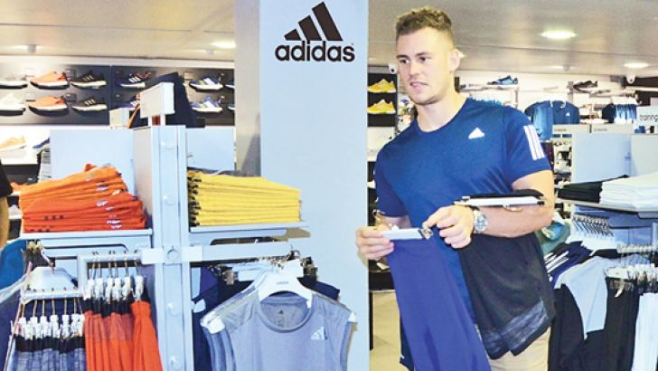 Jack Eyers, Mr.England at the adidas flagship store